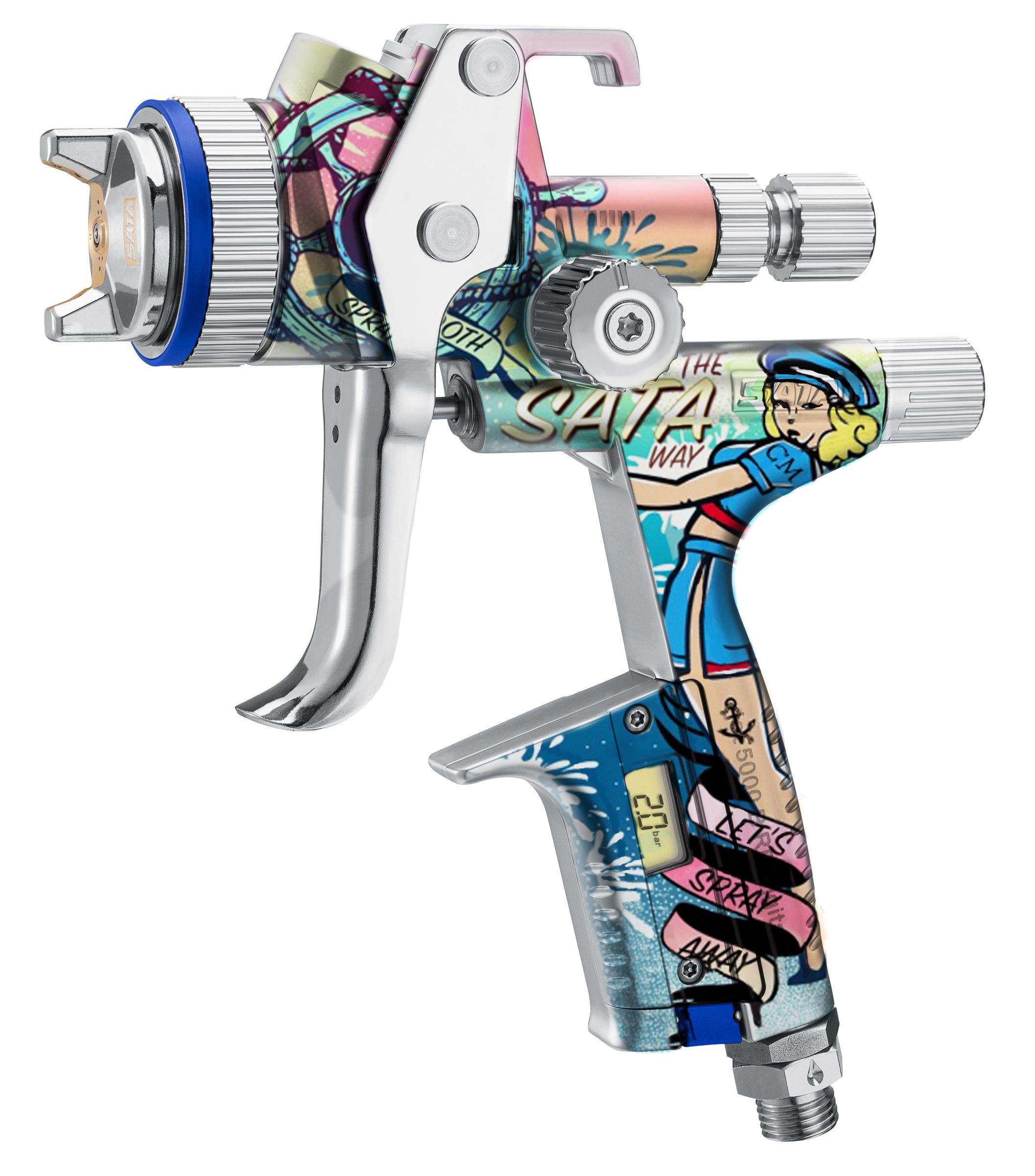 SATAjet 5000 B Sailor - spray away bei Autolack21 - Limitierte Edition
