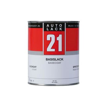 Autolack GM General Motors USA 71U-238L Super Red 238L-71U Uni Basislack H2O 1 Ltr.