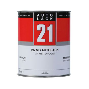 Ford EU 465 Bright Red  Uni 2K Einschichtlack 1 Ltr.